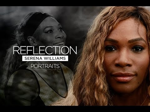 Portrait: Serena Williams: Reflection - 2014 Australian Open