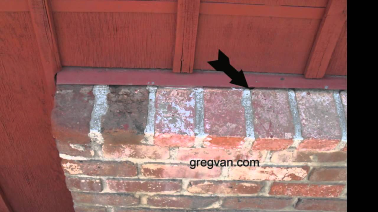 Problem Areas For Siding And Brick Wainscoting House