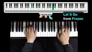How To Play Let It Go From Frozen On Piano