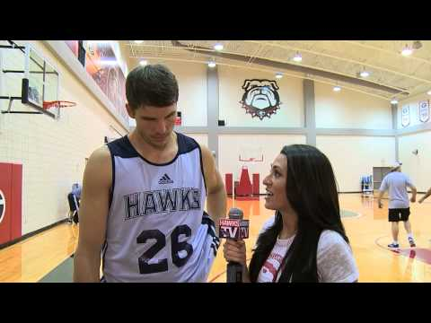 Kyle Korver at Hawks Training Camp