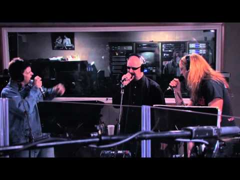 Jim Breuer, Rob Halford, and Sebastian Bach -