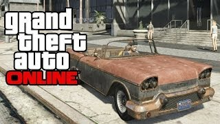 GTA 5 Online How To Get The Declasse Tornado! (Mexican