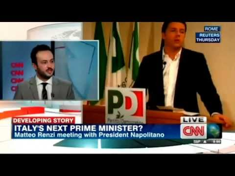 Matteo Renzi tasked with forming new Italian Goverment