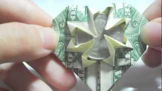 Origami: How To Make A Heart Out Of A Dollar