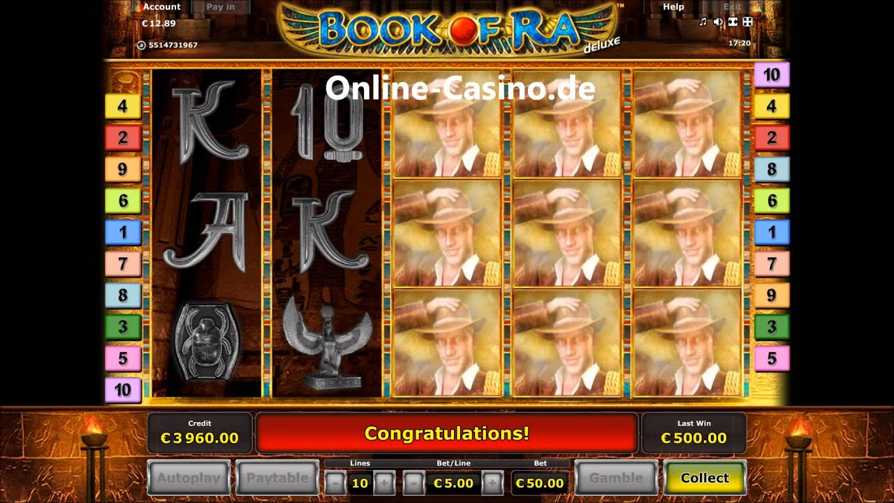 online casino euro boock of ra