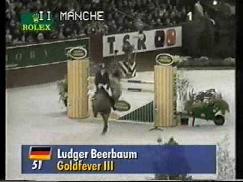 GOLDFEVER: Ludger Beerbaum's Hanoverian stallion by www.equine-evolution.com