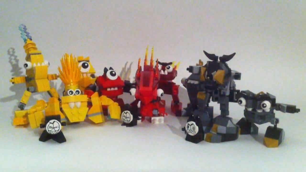 Lego mixels webshow 1 construction de la s rie 1 2 2 - Construction en lego impressionnante ...