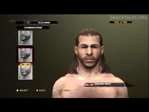 WWE '12: Shawn Michaels CAW Formula by Slipfan