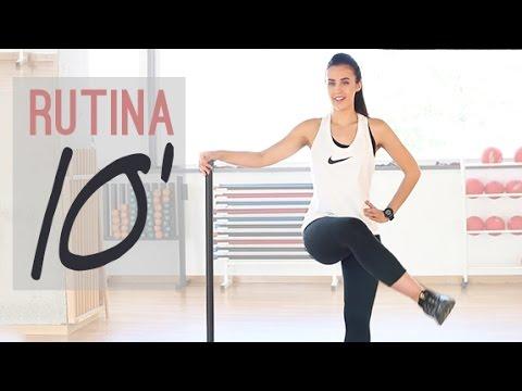 Rutina de ejercicios 10 minutos