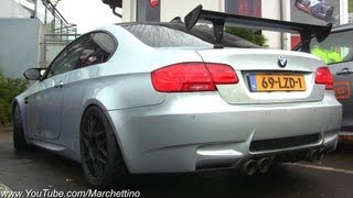 Supercharged BMW M3 E92 Sound! G-Power Tuning videos
