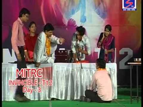 PLAY BY SANJAY BABU GROUP ON THE STAGE OF MITRC FUNCTION   THE BEST PREMIERE COLLEGE IN ALWAR LOCATE
