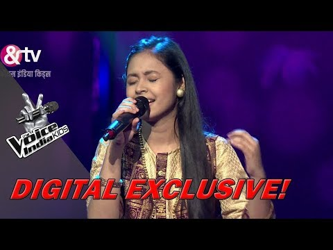Neelanjana Performs On Tujhse Naraaz Nahin Zindagi | Sneak Peek | The Voice India Kids - Season 2