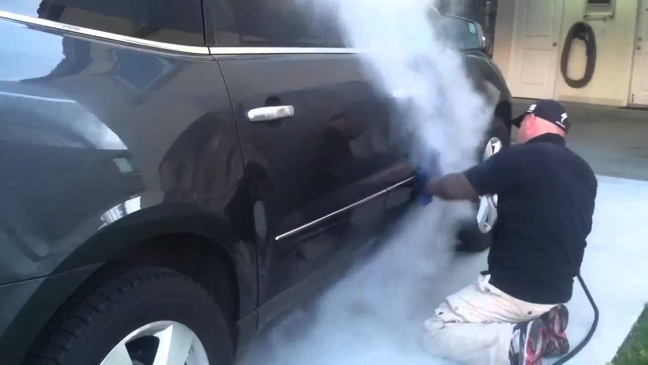 Jay Leno Steam Car Wash