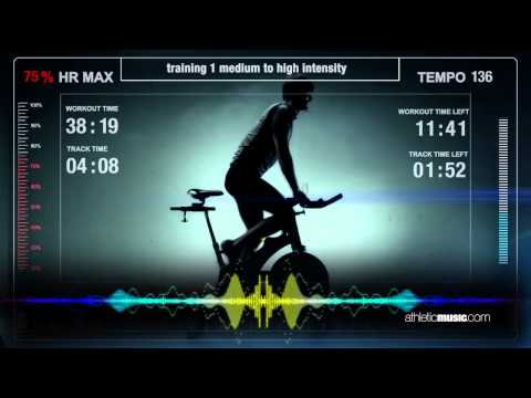 indoor cycling music & training - athletic MUSIC - Scarlet ibis