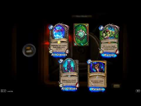 Hearthstone Knights of the frozen throne 3 legendary 1 pack