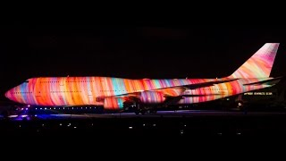 Boeing Centennial Projection Spectacular