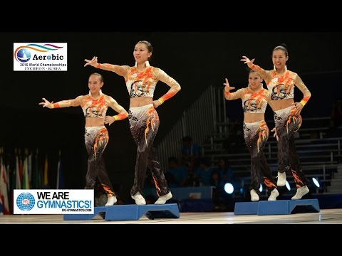 FULL REPLAY - 2016 Aerobic Gymnastics Worlds - Finals Day 2