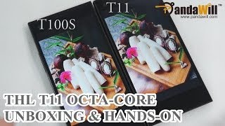Hands On: ThL T11 OctaCore Smartphone VS ThL T100S