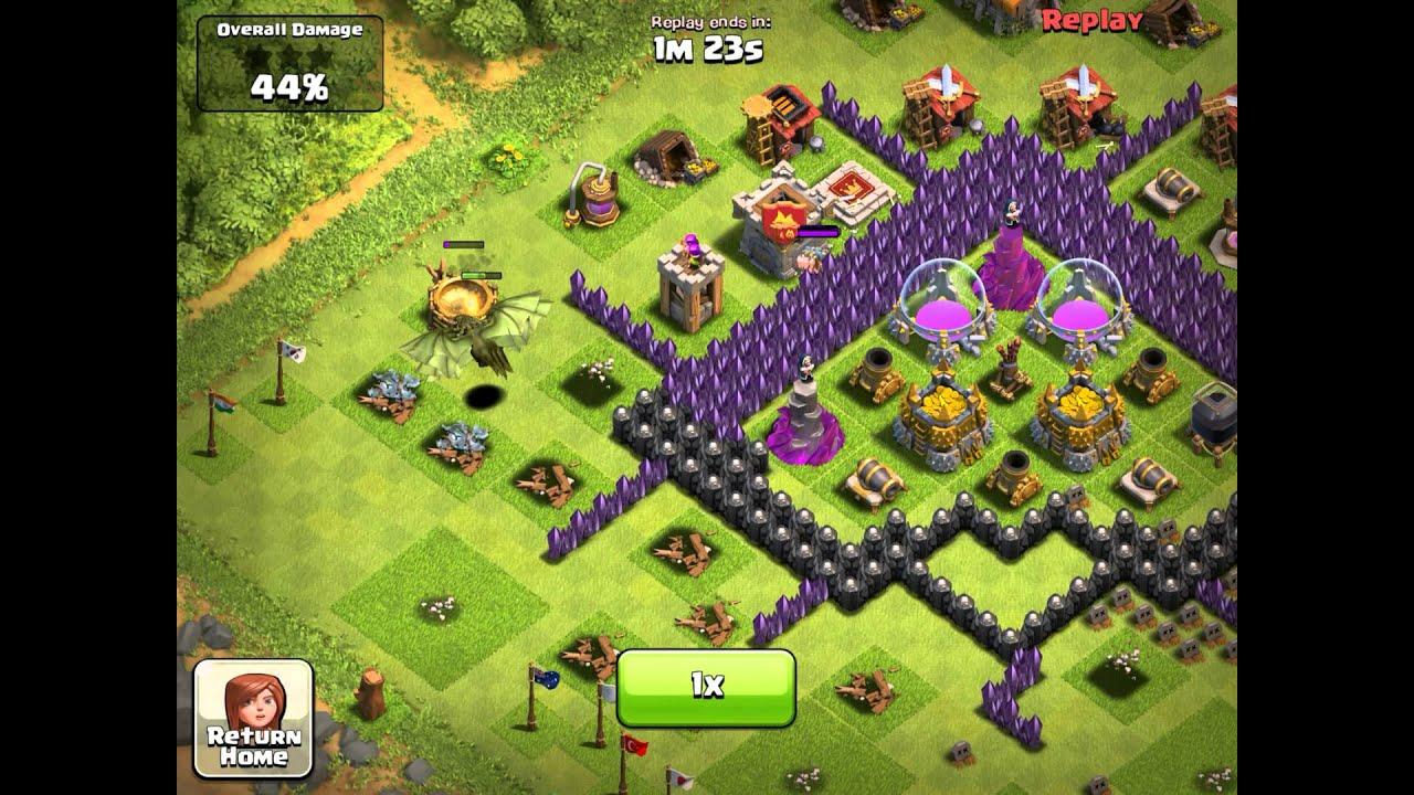 level 6 dragon clash of clans wwwimgkidcom the image