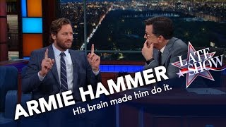 Armie Hammer Ate NYC Street Meat, And Lived To Eat Another Day