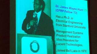 William Massey: The Legacy of the Black Scientific Renaissance in the 70's 80's and 90's