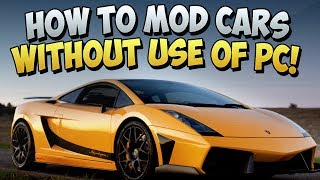 GTA 5 Glitches How To MOD Cars Without A PC Glitch In