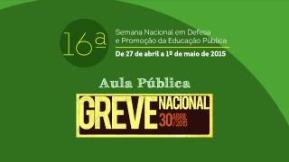 GREVE NACIONAL DA EDUCAÇÃO - SINTERO