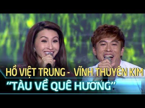Cặp Đôi Vàng Tập 1| Hồ Việt Trung - Vĩnh Thuyên Kim 'náo loạn' sân khấu với 'Tàu về quê hương'