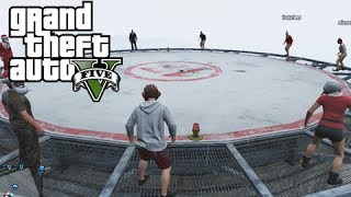 GTA 5 Online Parachute Fails, Big Rooftop Rumble And A