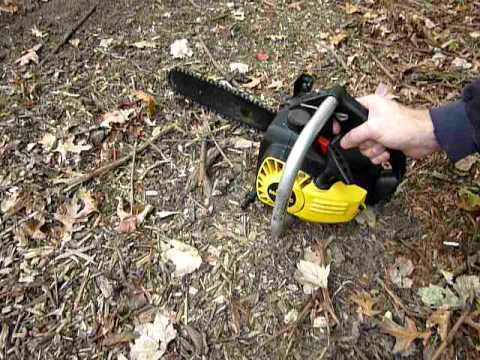 McCulloch minimac mac 130 chainsaw