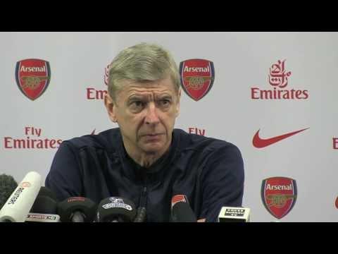 Arsene Wenger pre Stoke - 27 2 2014