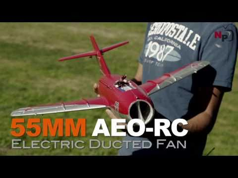 Exceed RC Mini 50MM MIG-15 EDF Jet with High Performance Upgrades
