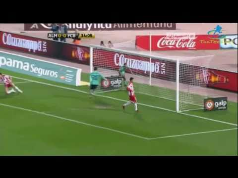 HD Almeria vs Barcelona 0-3 Goals & Highlights 2011 Almeria 0-3 Barcelona