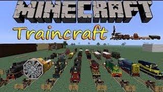 ! Minecraft Mod ! [ 1.6.2 ] { TrainCraft Mod