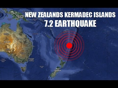 POWERFUL MAGNITUDE 7.2 EARTHQUAKE RATTLES NEW ZEALANDS KERMADEC ISLANDS MONDAY (JUNE 23, 2014)