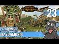 DAWI SLAUGHTER Total War Warhammer 2 Lizardmen Campaign Mazdamundi 23
