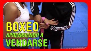 Clases de Boxeo: Como vendarse las manos