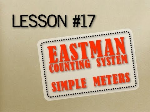 How to Read Music - Lesson 17 - Eastman Counting System Simple Meters