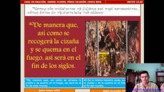 Estudio Bíblico 028 Mateo 13,33-46: Parábola De La