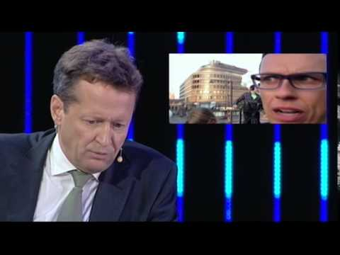 Alex Stubb commenting European Election Night 2014