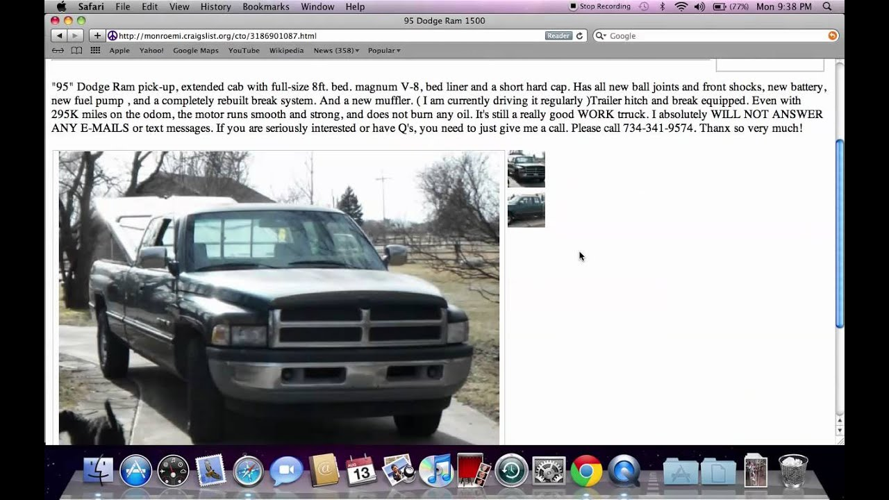 Craigslist Monroe Cars And Trucks For Sale By Owner
