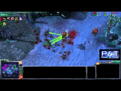 (HD311) Grubby vs LLLOrly - PvZ - Starcraft 2 Relplay [FR]