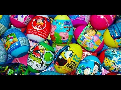 150 Huevos Sorpresas - Peppa La Cerdita,Huevos Kinder Sorpresas Dora la exploradora y Mucho Mas