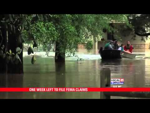 One Week Left to File FEMA Claims