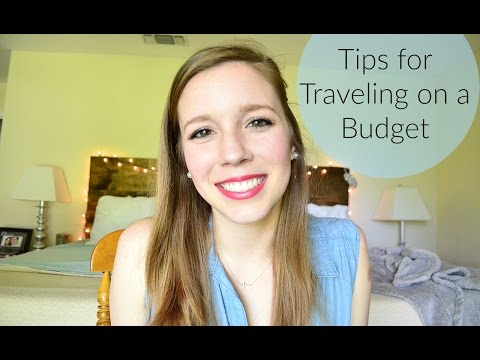 How to Travel on a Budget || Life With Sarah