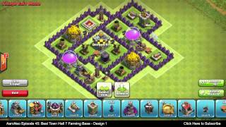 BEST Town Hall Level 7 (TH7) Farming Base Defense Strategy