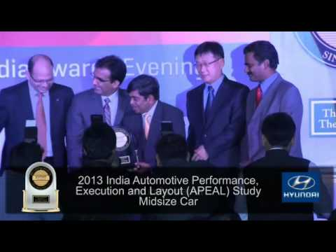 Video Highlights of J.D. Power Asia Pacific 2013 India Awards Presentation