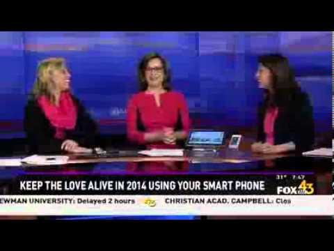 U.S. Cellular shares Valentine's Day apps on Mornings with Fox43