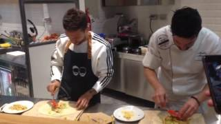Atalanta, Gomez cucina la piadina 'Papu'