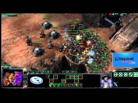 Kingston HyperX Pro Tip: EG.IdrA vs. ROOT.qxc (Blistering Sands) Part 2